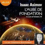 Vente AudioBook : L'Aube de Fondation