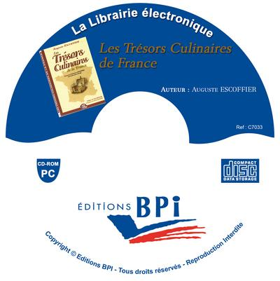 Cd tresors culinaires de la france