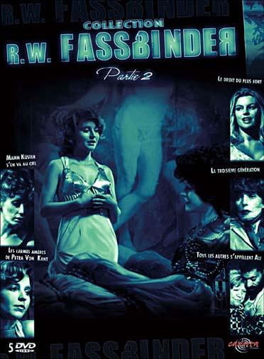 coffret Fassbinder partie 2 : le droit du plus fort ; les larmes ameres de Petra von Kant ; la 3eme generation ; ...
