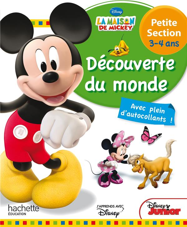 Mickey ; découverte du monde ; petite section ; 3/4 ans