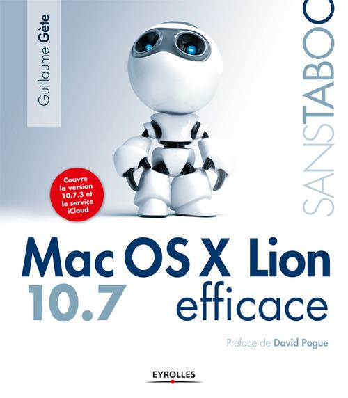 Mac OS X lion 10.7 efficace