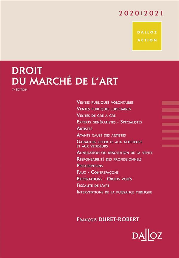 Droit du marche de l'art (édition 2020/2021)