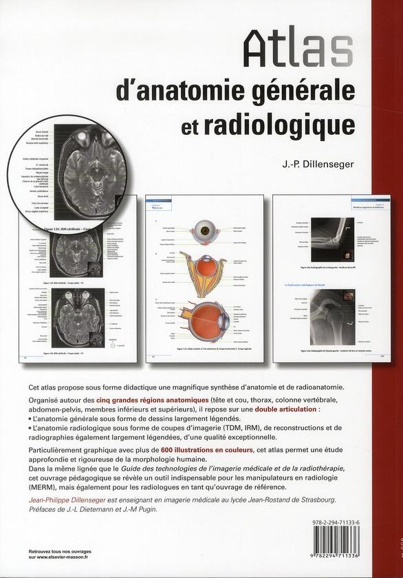 Manuel d'anatomie générale et radiologique