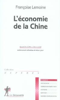 L'Economie De La Chine Ne