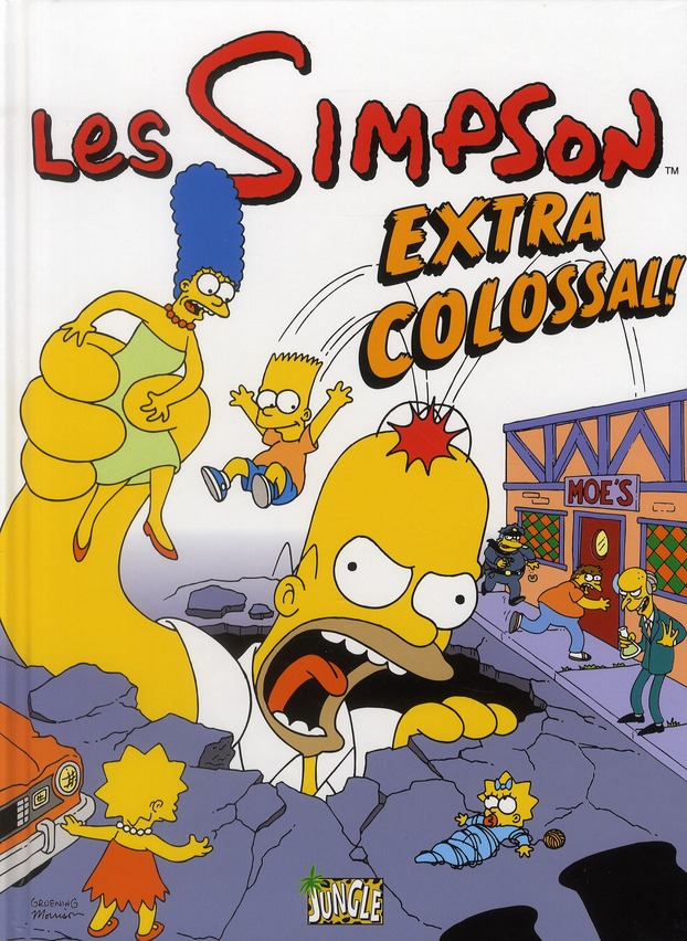 Les Simpson T9 Extra Colossal !