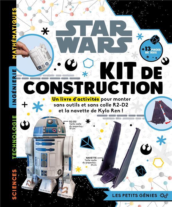 Star Wars ; les petits génies - kit de construction - constuis r2-d2 et la navette de kylo ren