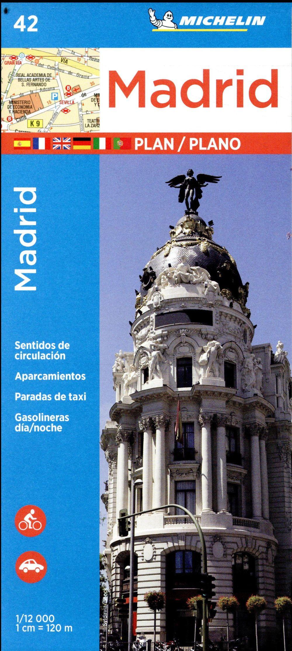 PLANO MADRID E INDICE