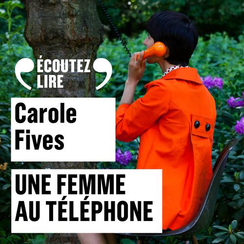 Une femme au telephone