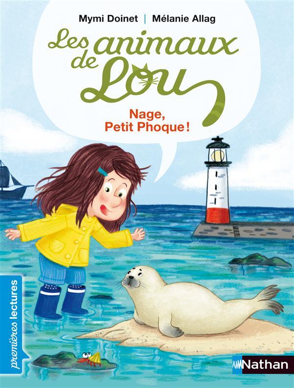 Les animaux de Lou ; nage petit phoque !