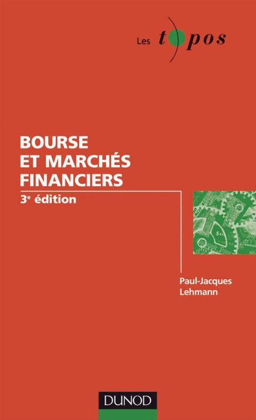 Bourse et marchés (3e édition)