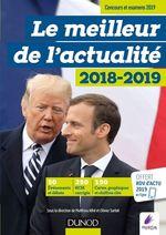 Vente Livre Numérique : Le meilleur de l'actualité 2018-2019 - Concours et examens 2019  - Collectif - Olivier Sarfati - Matthieu Alfré