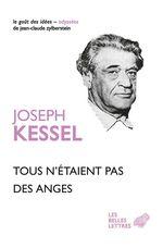 Vente Livre Numérique : Tous n'étaient pas des anges  - Joseph Kessel