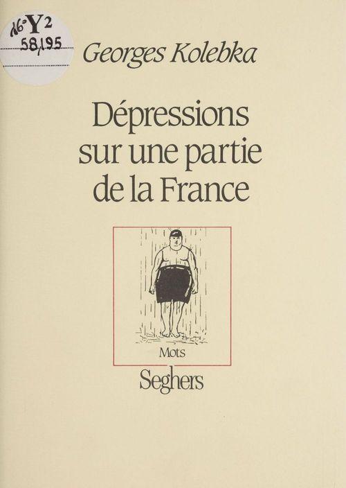 Depressions sur une partie de la france