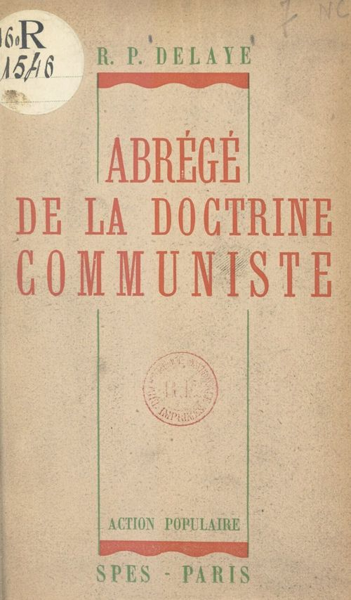 Abrégé de la doctrine communiste
