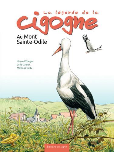 La légende de la cigogne au Mont Sainte-Odile