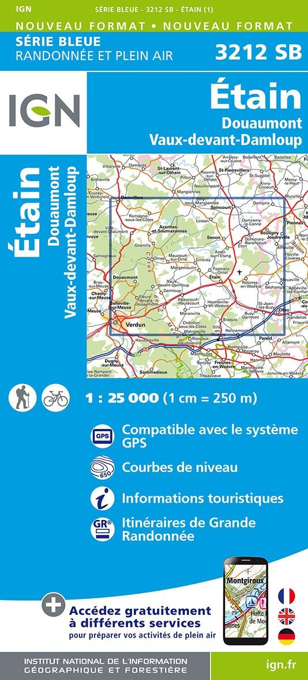 3212SB ; Étain, Douaumont, Vaux-devant-Damloup