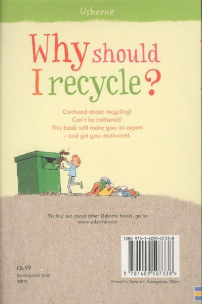 Why Should I Recycle ?