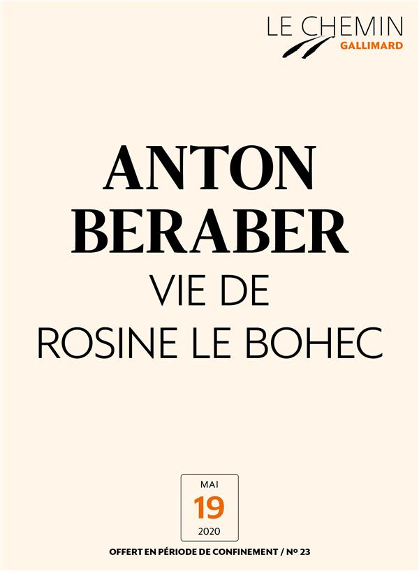 Le Chemin (N°23) - Vie de Rosine Le Bohec
