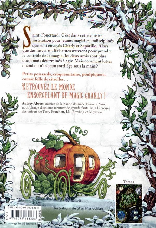 magic Charly t.2 ; bienvenue à Saint-Fouettard