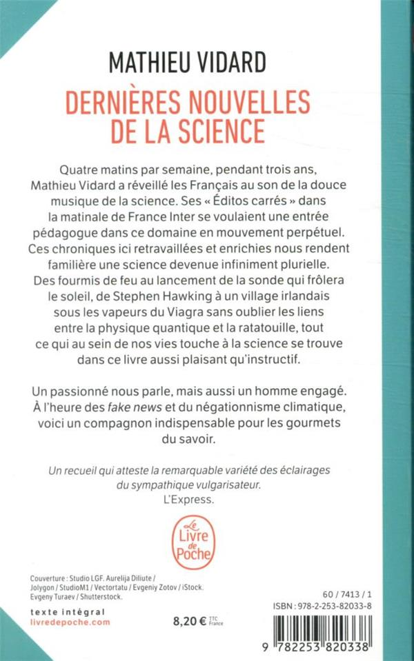 dernières nouvelles de la science