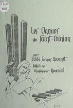 Documents à verser au dossier de l'orgue de Saint Chinian