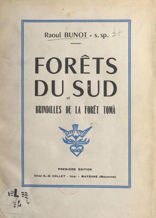 Forêts du sud et brindilles de la forêt Toma