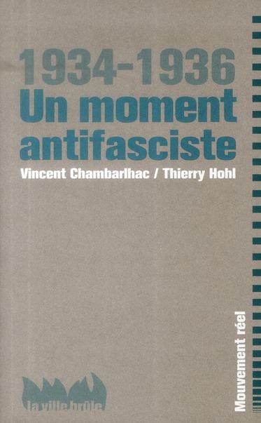 Un moment antifasciste ; 1934-1936