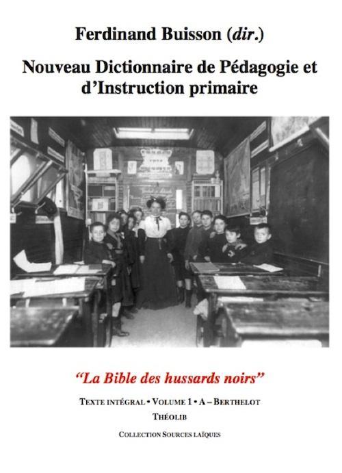 Nouveau dictionnaire de pédagogie et d'instruction primaire
