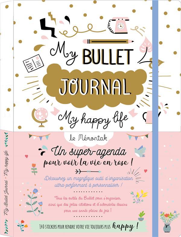 Mémoniak ; my bullet journal ; my happy life