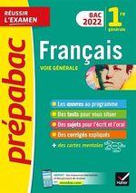 Vente Livre Numérique : Prépabac Français 1re générale Bac 2022  - Collectif - Sophie Saulnier - Hélène Bernard