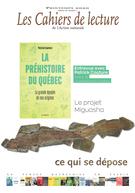 Les Cahiers de lecture de L'Action nationale. Vol. 14 No. 2, Printemps 2020