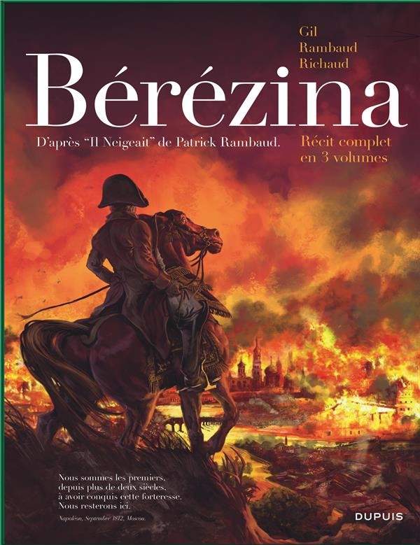 Bérézina ; COFFRET T.1 A T.3