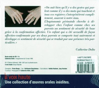 L'haptonomie perinatale cd