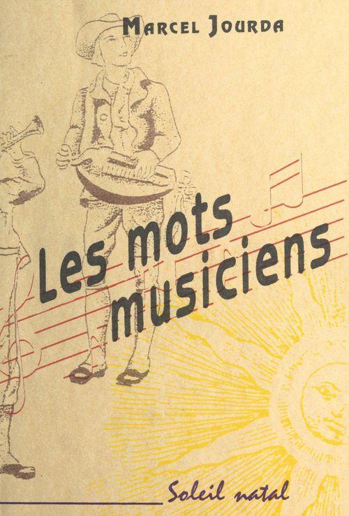 Les mots musiciens