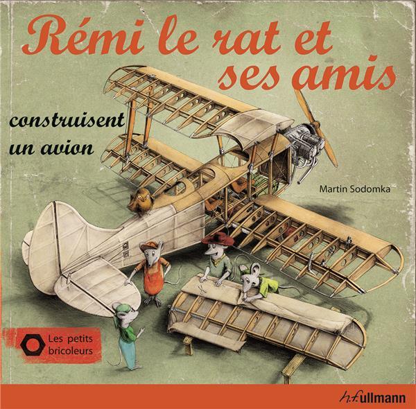 Rémi le rat et ses amis construisent un avion