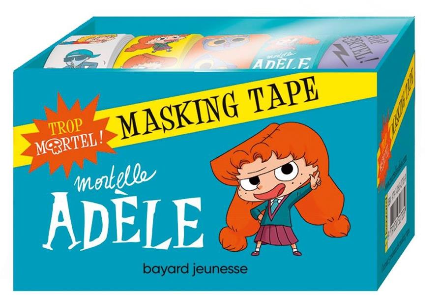 Mortelle Adèle ; masking tape