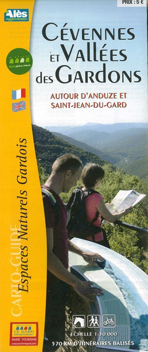 Cévennes et vallées des Gardons autour d'Anduze et St-Jean-du-Gard