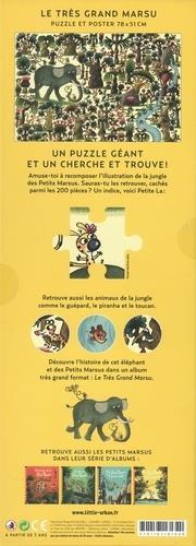 Les Petits Marsus ; cherche & trouve ; puzzle de 200 pièces avec un poster