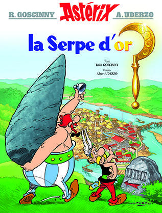 ASTERIX T.2  -  LA SERPE D'OR GOSCINNY/UDERZO