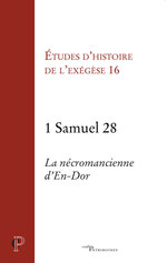 Vente Livre Numérique : 1 Samuel 28 - La nécromancienne d'En-Dor  - Gilbert Dahan - Matthieu Arnold - Annie Noblesse-rocher