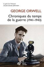 Vente EBooks : Chroniques du temps de la guerre  - George Orwell
