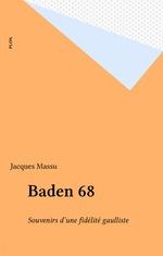 Baden 68  - Jacques Massu - Massu/J