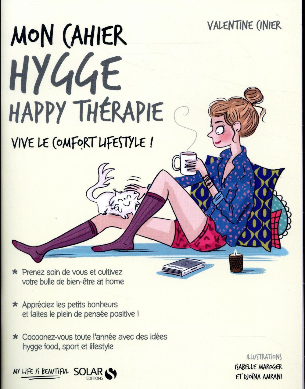 MON CAHIER ; hygge happy thérapie