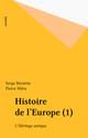 Histoire de l'Europe (1)  - Pierre Milza  - Serge Berstein
