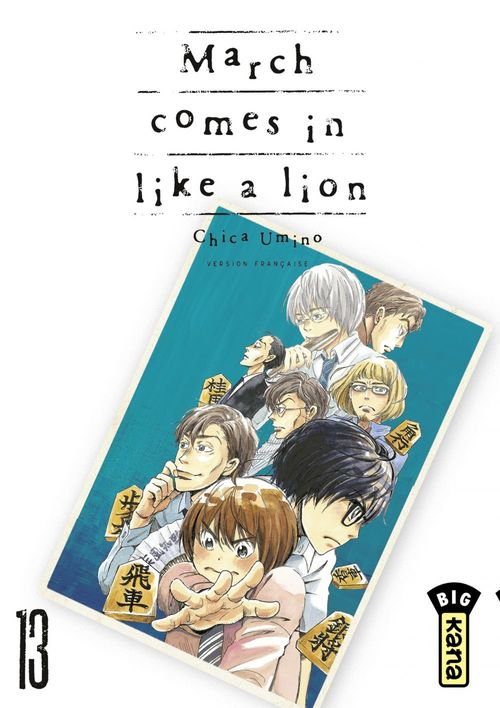March comes in like a lion T.13