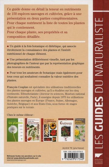 Guide nutritionnel des plantes sauvages