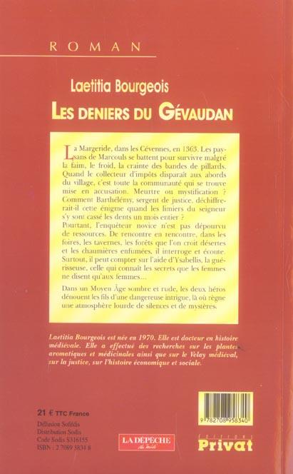 Les deniers du Gévaudan