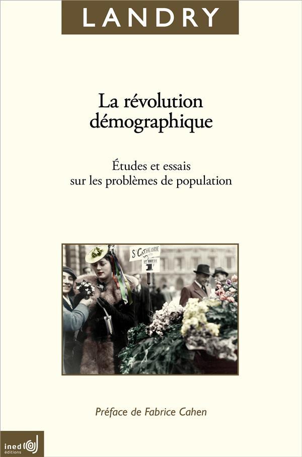 La revolution demographique. etudes et essais sur les problemes de po pulation