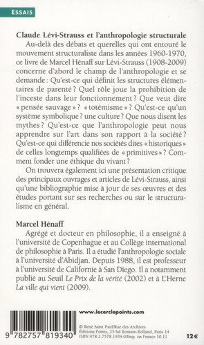Claude Lévi-Strauss et l'anthropologie structurale
