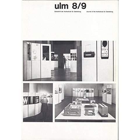 Ulm journal of the ulm school for design